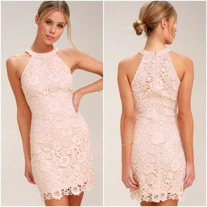 Lulus Love Poem Lace Dress